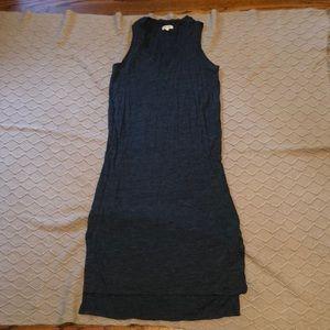 Madewell tank maxi dress with side slits